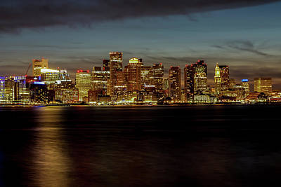 Photograph - Boston Festival Of Lights by Kimberly Nyce