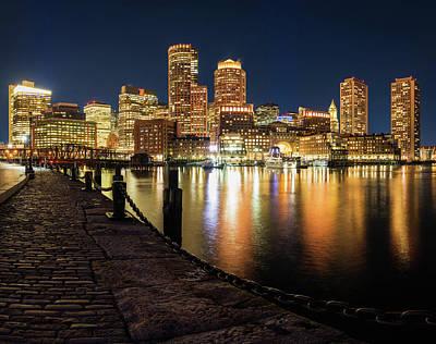 Photograph - Boston Financial by Michael Blanchette