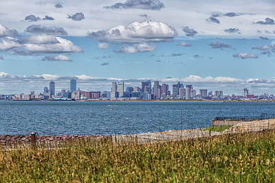 Photograph - Boston From Deer Island by Brian MacLean