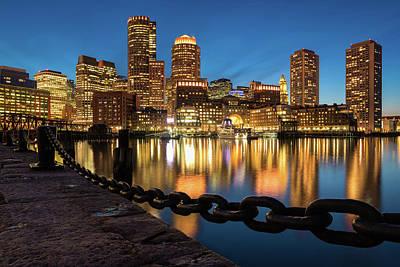 Photograph - Boston Glitter by Michael Blanchette
