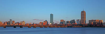 Photograph - Boston Golden Hour by Juergen Roth
