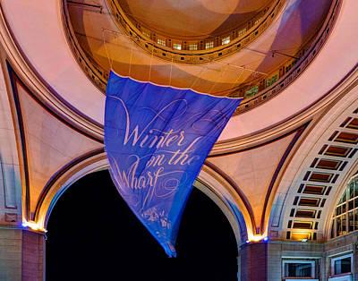 Photograph - Boston Harbor Hotel 534 by Jeff Stallard