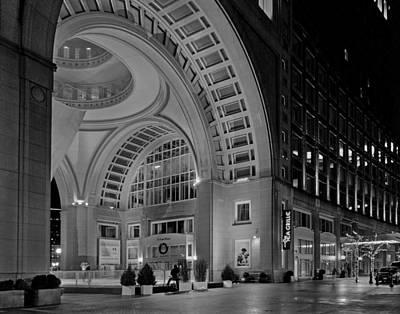 Photograph - Boston Harbor Hotel 535 by Jeff Stallard