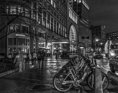 Photograph - Boston Harbor Hotel 536 by Jeff Stallard