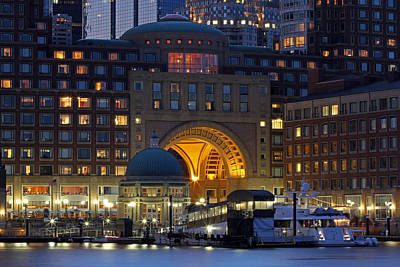 Photograph - Boston Harbor Hotel Arch And Rotunda by Juergen Roth
