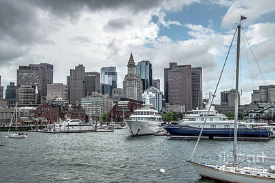 Photograph - Boston Harbor View by Cathie Richardson