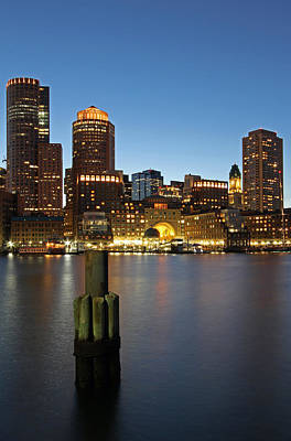 Photograph - Boston Harbor Walk by Juergen Roth
