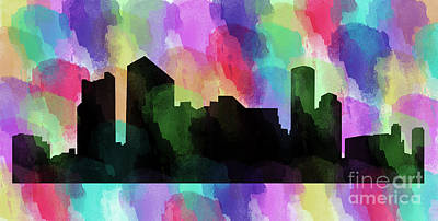 Photograph - Boston In Colors by Steven Parker