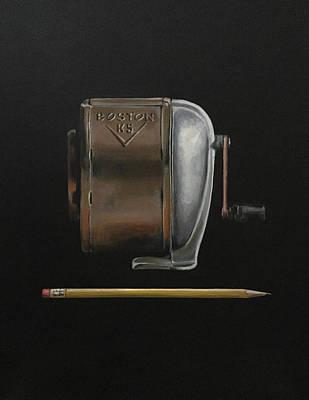 Boston Painting - Boston by Jeffrey Bess
