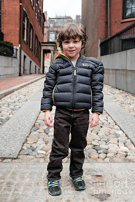 Photograph - Boston Kid 2 by Edward Fielding