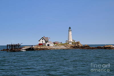 Photograph - Boston Light by Lennie Malvone