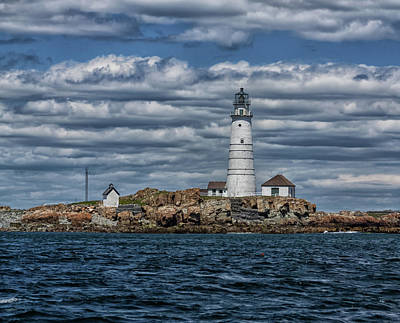 Photograph - Boston Lighthouse Square by Brian MacLean