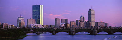 Charles River Photograph - Boston Ma by Panoramic Images
