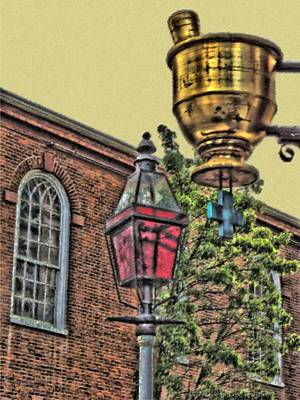 Digital Art - Boston Medicine by Vince Green
