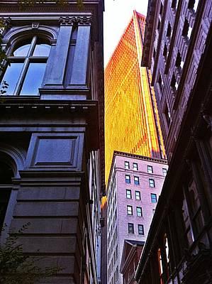 Noreaster Photograph - Boston by Michael Braun