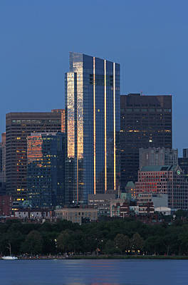 Photograph - Boston Millenium Tower by Juergen Roth