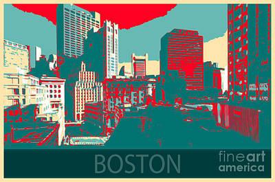 Photograph - Boston by Mim White