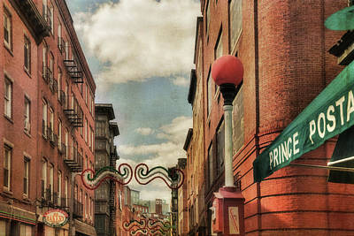 Photograph - Boston North End by Joann Vitali