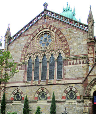 Photograph - Boston Old South Church 2 by Randall Weidner