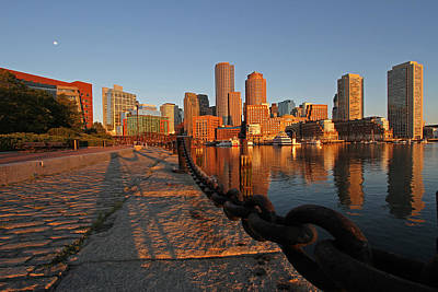 Photograph - Boston On The Rise by Juergen Roth