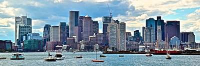 Boston Panorama Art Print by Frozen in Time Fine Art Photography