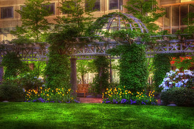 Photograph - Boston Park - Post Office Square - Boston by Joann Vitali