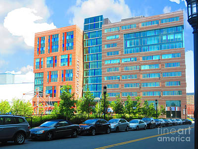 Photograph - Boston Picture Perfect Parking Colorful Buildings Great Architecture  Navinjoshi Finearica Pixels by Navin Joshi