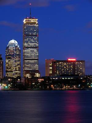 Charles River Photograph - Boston Prudential Center by Juergen Roth