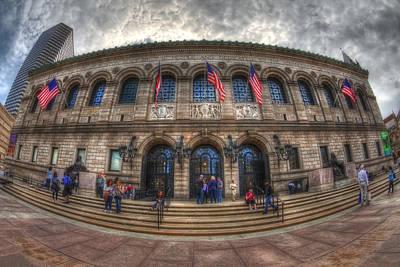 New England Photograph - Boston Public Library by Joann Vitali