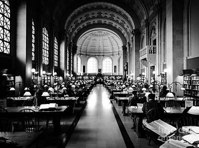 Boston Public Library... Or Hogwarts? Art Print by JMerrickMedia