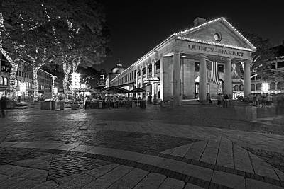Photograph - Boston Quincy Market by Juergen Roth