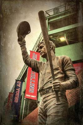Boston Red Sox Photograph - Boston Red Sox - Carl Yastrzemski by Joann Vitali