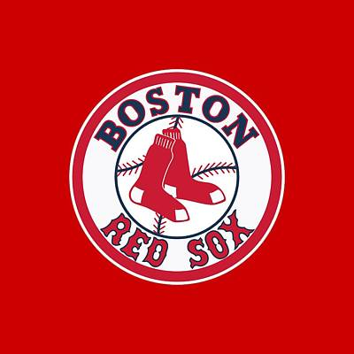 Mbl Digital Art - Boston Red Sox by Mitro66
