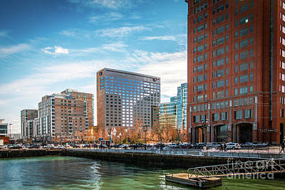 Photograph - Boston Seaport by Mim White