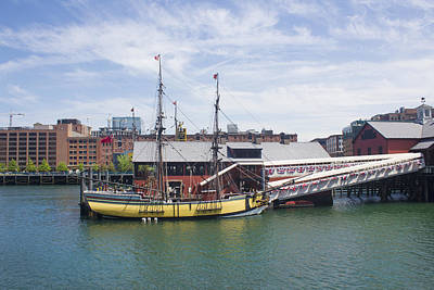 Photograph - Boston Tea Party - Boston Series 01 by Carlos Diaz
