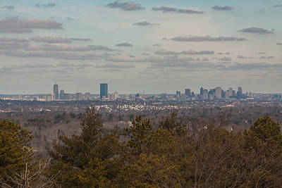 Photograph - Boston Skyline As Seen From The Summit Of Buck Hill by Brian MacLean