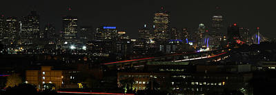 Photograph - Boston Skyline View From Chelsea  by Juergen Roth