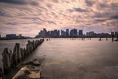 Photograph - Boston Skyline by Chris Bordeleau