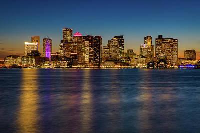 Photograph - Boston Skyline by Michael Blanchette