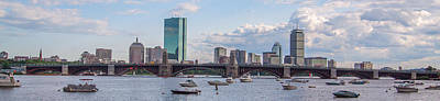 Photograph - Boston Skyline Panorama by Brian MacLean