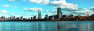 Boston Skyline Original by Sean Leber-Fennessy