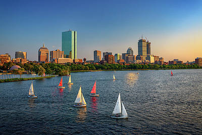 Photograph - Boston Skyline Summer 2018 by Rick Berk