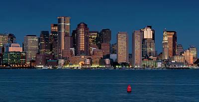 Photograph - Boston Skyline by Thomas Gaitley