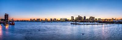 Charles River Photograph - Boston Skyline by Tim Sullivan