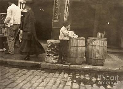 Photograph - Boston: Slums, 1909 by Granger