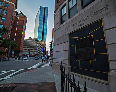 Photograph - Boston South End 75 Clarendon Street Hancock Building Boston Ma by Toby McGuire