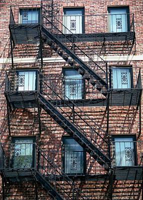 Boston Stairs Art Print