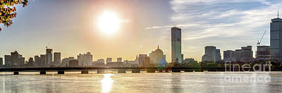 Photograph - Boston Sunrise by Mark Brennan