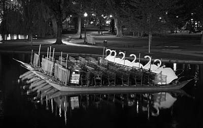 Photograph - Boston Swan Boat by Juergen Roth