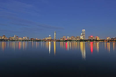 Photograph - Boston Tallest Skyscrapers by Juergen Roth